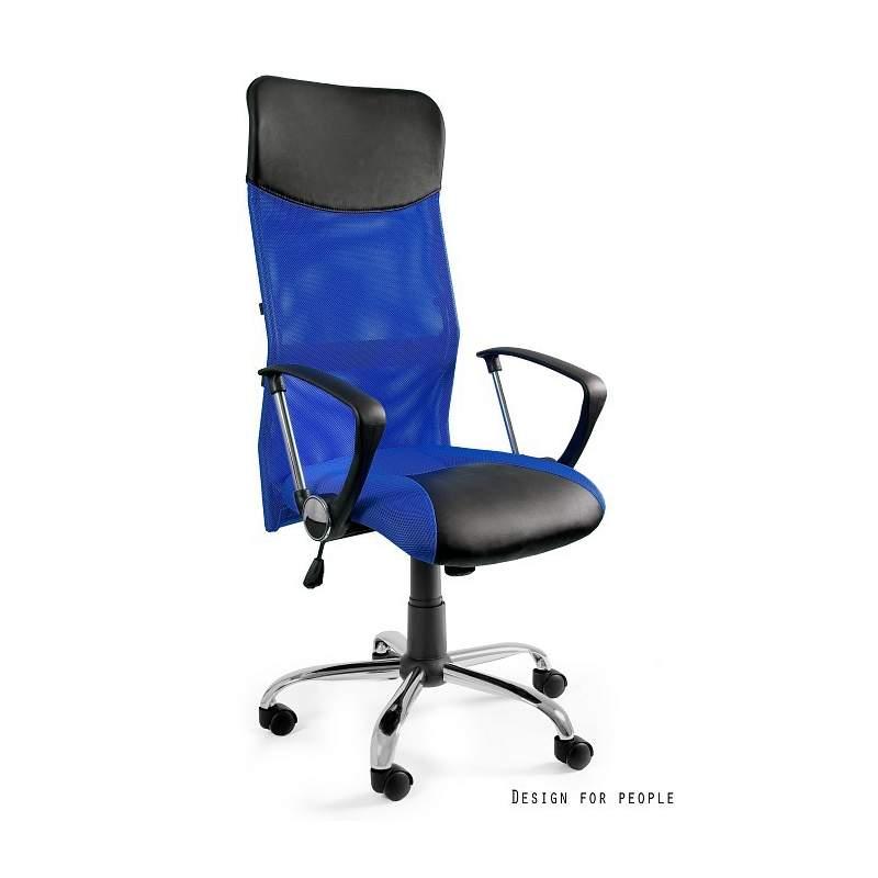 Viper niebieski fotel biurowy  UNIQUE