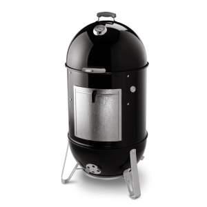 Wędzarka Weber węglowa grillowa Smokey Mountain Cooker 47cm - czarna
