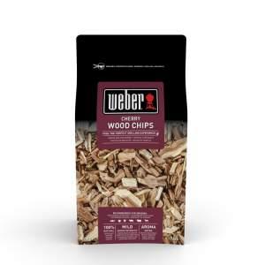 Drewienka ( wiórki ) do wędzenia Wiśnia Weber certyfikat FSC 700 g