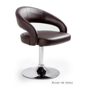 Fotel biurowy Unique Stilo brązowy