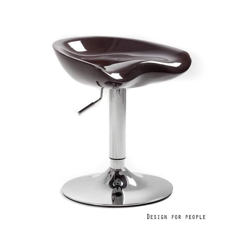 Fotel biurowy Unique spoony brązowy