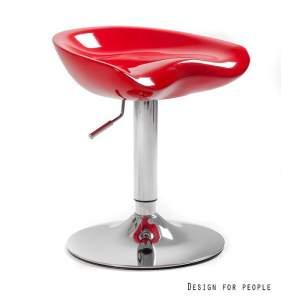 Fotel biurowy Unique spoony czerwony