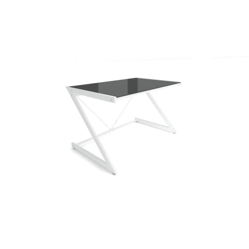 Biurko UNIQUE DD Z line Computer Desk biały/czarny