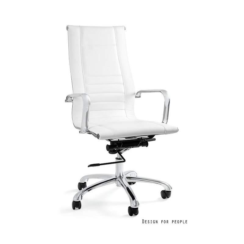 Aster fotel biurowy biały UNIQUE