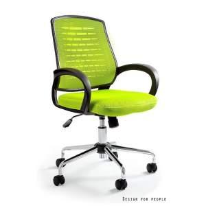Award fotel biurowy zielony UNIQUE