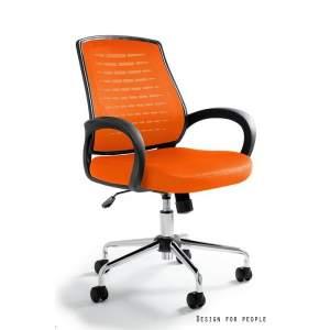 Award fotel biurowy pomarańczowy UNIQUE