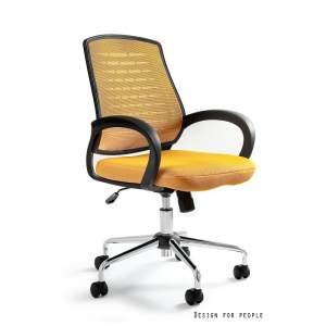 Award fotel biurowy żółty UNIQUE