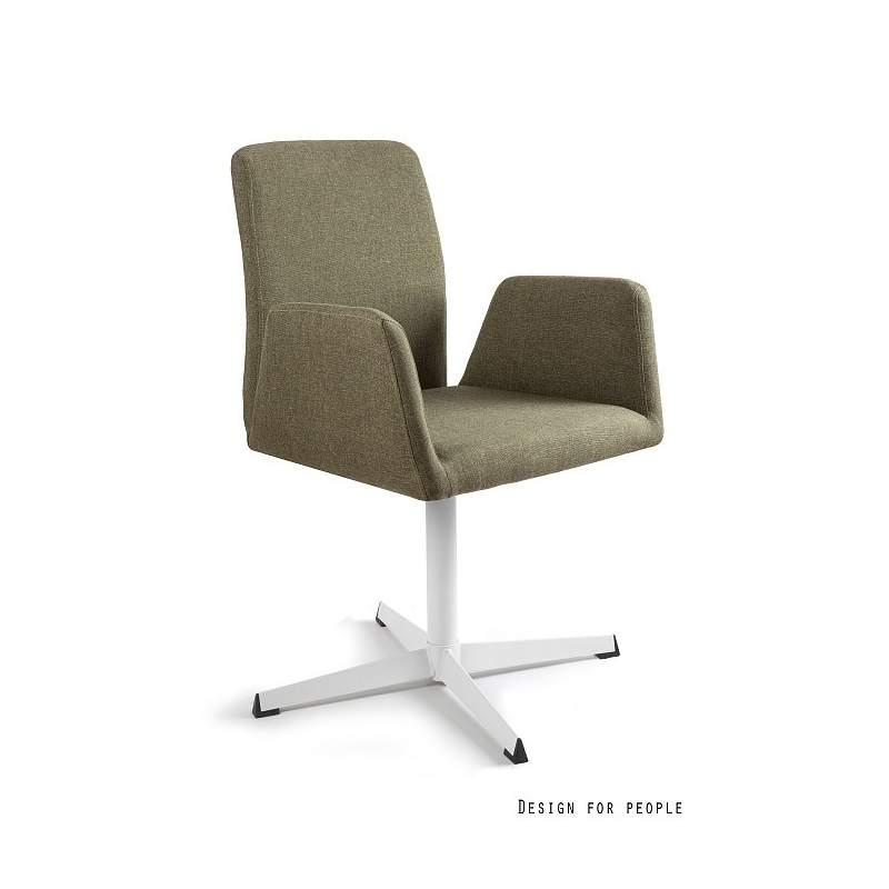Brava fotel biurowy zielony UNIQUE