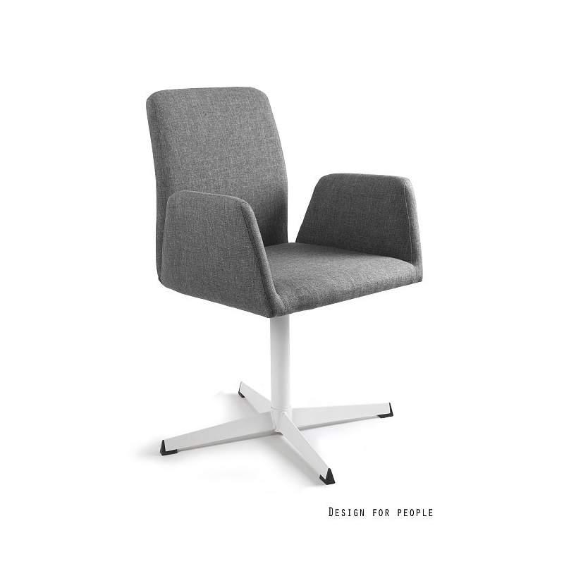 Brava fotel biurowy szary UNIQUE