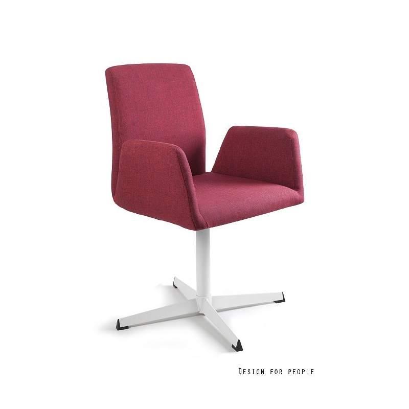 Brava fotel biurowy czerwony UNIQUE