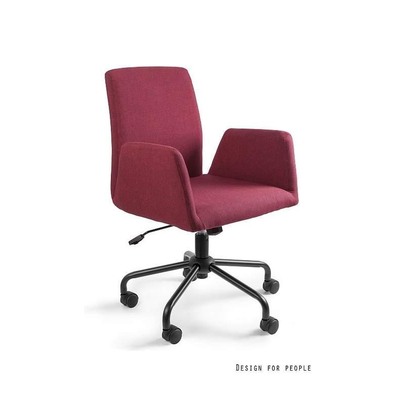 Bravo fotel biurowy czerwony UNIQUE