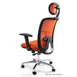 Expander fotel biurowy pomarańczowy UNIQUE