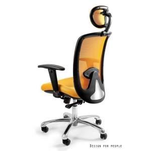 Expander fotel biurowy żółty UNIQUE