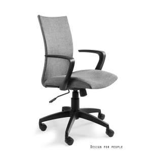 Millo fotel biurowy szary UNIQUE