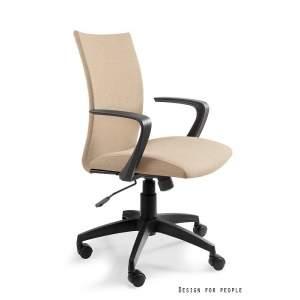 Millo fotel biurowy beżowy UNIQUE