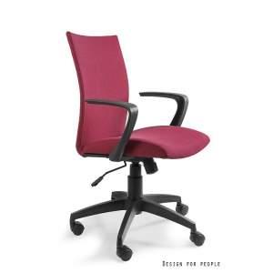 Millo fotel biurowy czerwony UNIQUE