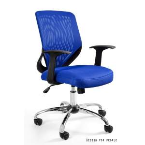 Mobi fotel biurowy niebieski UNIQUE