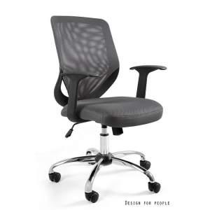 Mobi fotel biurowy szary UNIQUE