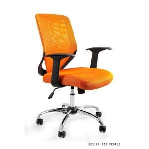 Mobi fotel biurowy pomarańczowy UNIQUE