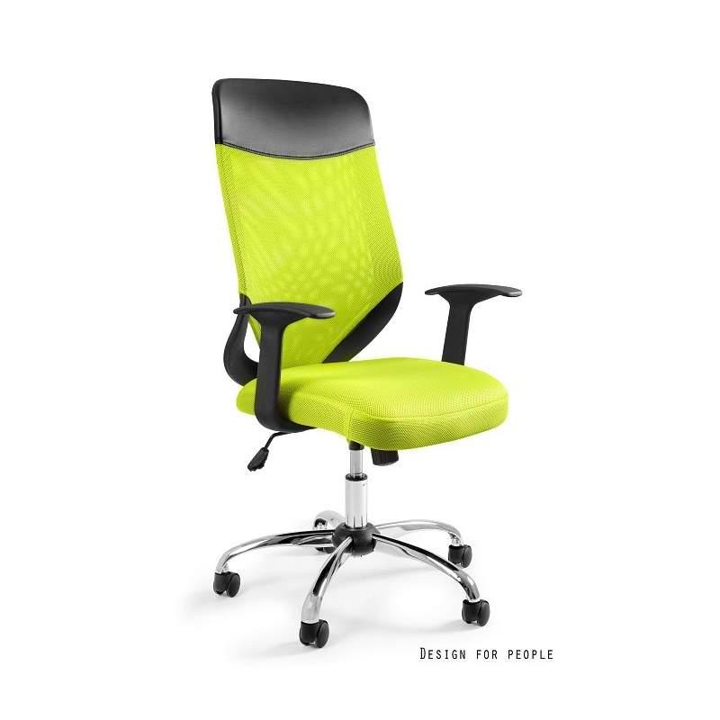 Mobi plus fotel biurowy zielony UNIQUE