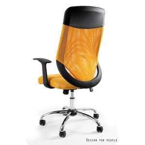 Mobi plus fotel biurowy żółty UNIQUE