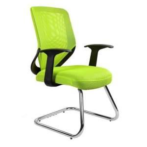 Mobi skid fotel biurowy zielony UNIQUE