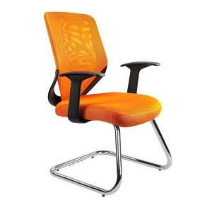 Mobi skid fotel biurowy pomarańczowy UNIQUE