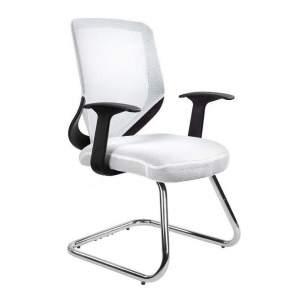 Mobi skid fotel biurowy biały UNIQUE