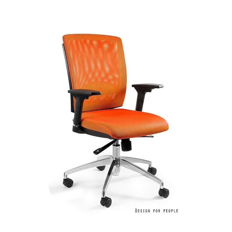 Multi fotel biurowy pomarańczowy UNIQUE
