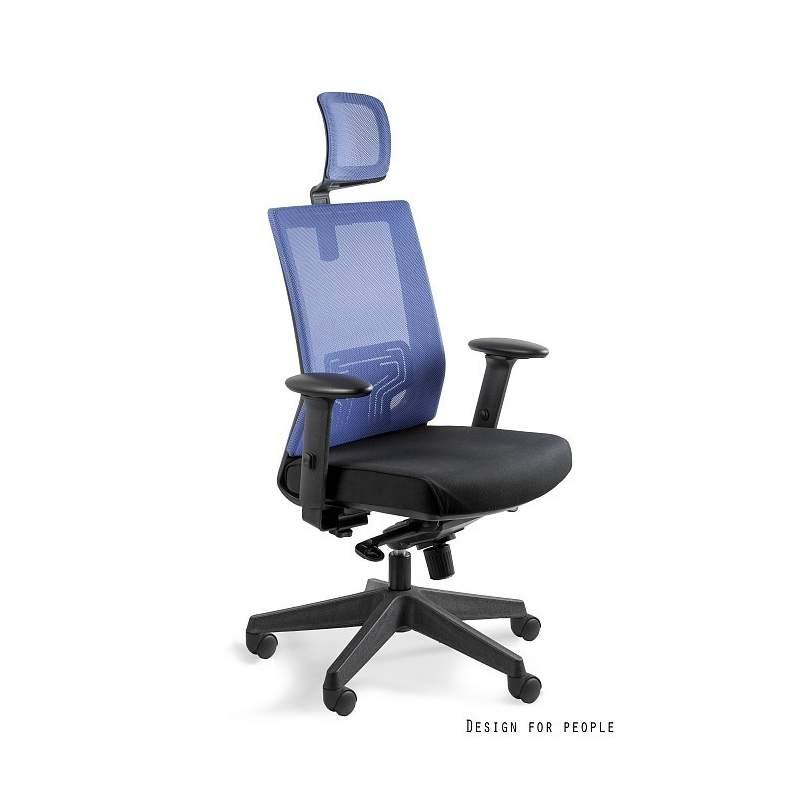 Nez fotel biurowy niebieski UNIQUE