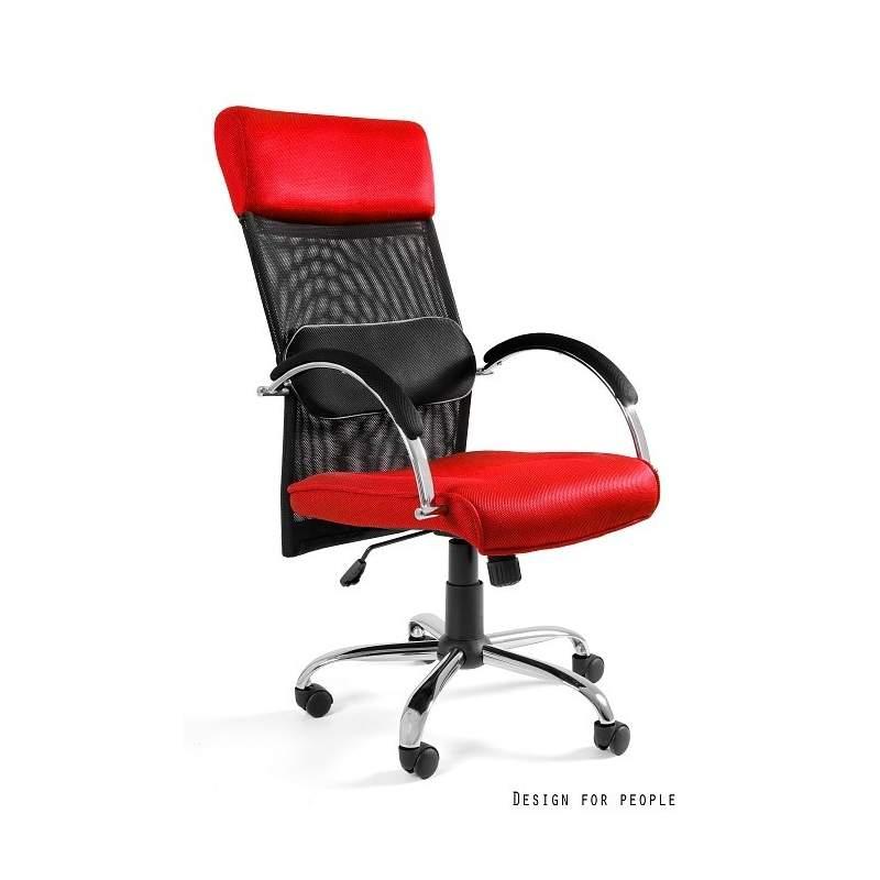 Overcross fotel biurowy czerwony UNIQUE