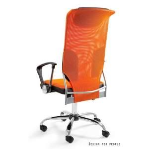 Thunder pomarańczowy fotel biurowy UNIQUE
