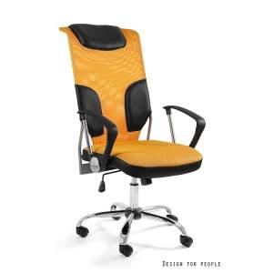 Thunder fotel biurowy żółty UNIQUE