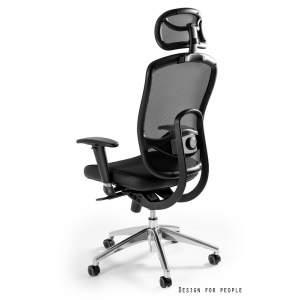 Vip czarny fotel biurowy UNIQUE