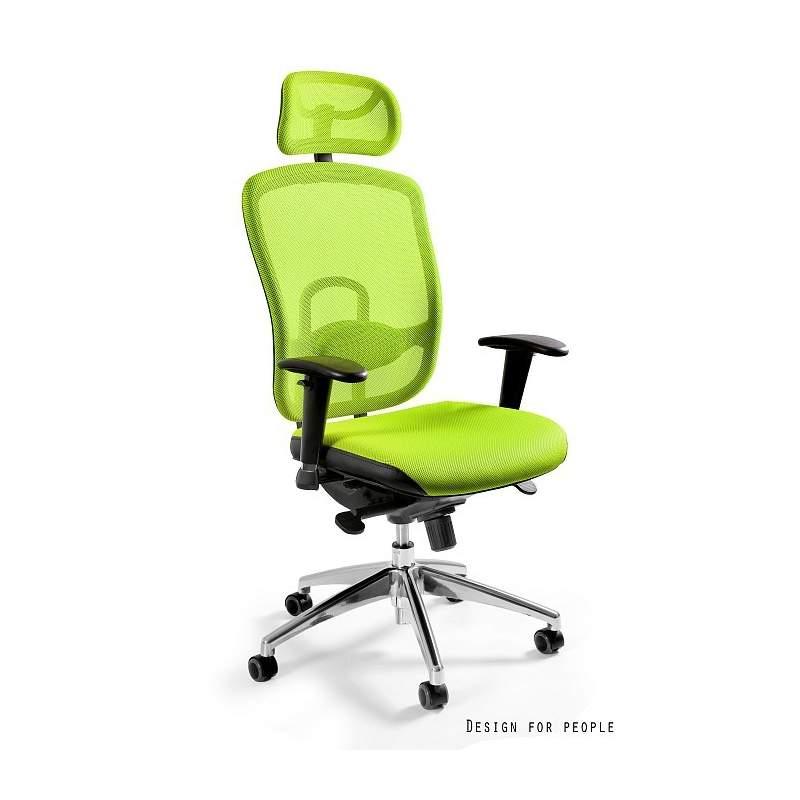 Vip zielony fotel biurowy UNIQUE
