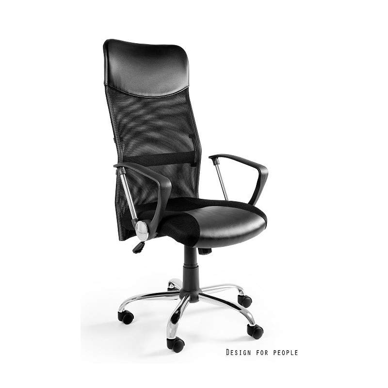 Viper fotel biurowy czarny UNIQUE