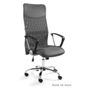 Viper fotel biurowy szary UNIQUE