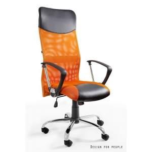 Viper pomarańczowy fotel biurowy UNIQUE
