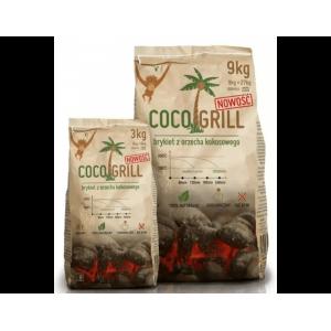 Brykiet z łupin kokosa COCO GRILL