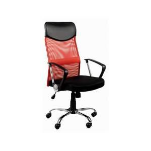 Fotel biurowy Sit Plus Dream czerwony