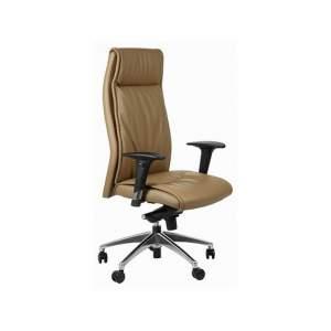 Fotel biurowy Sit Plus ELEGANT brązowy