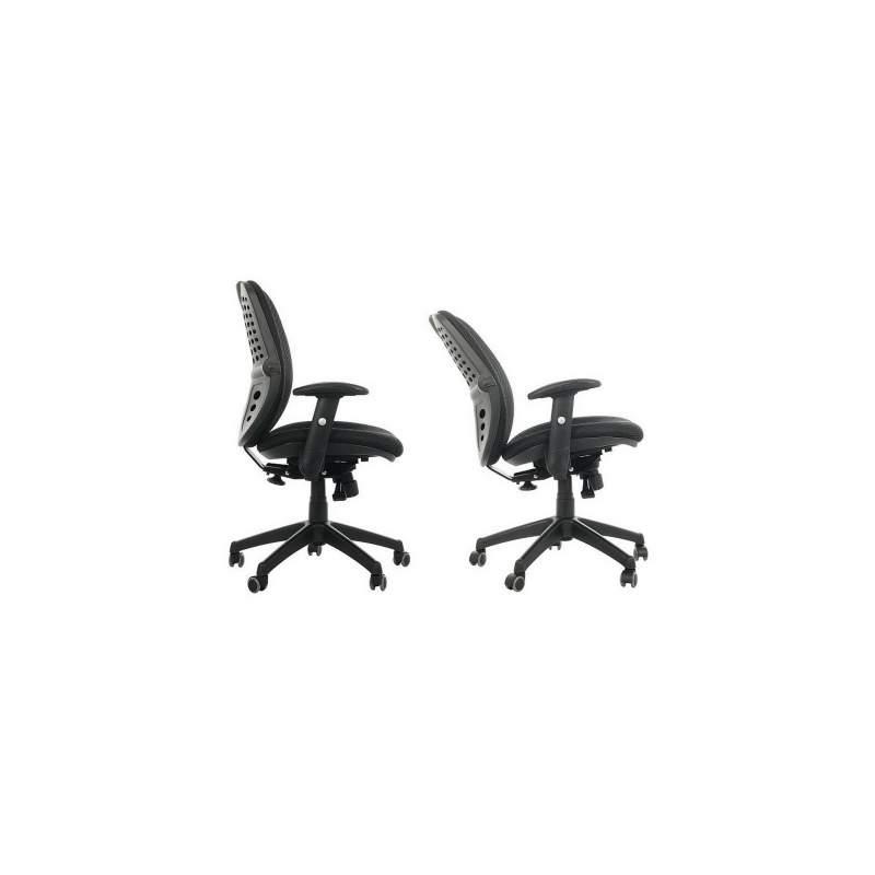 Fotel biurowy Sit Plus Spectrum czarny