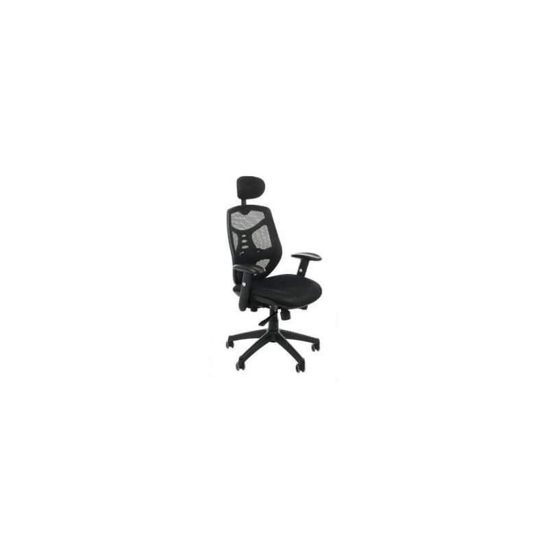 Fotel biurowy Sit Plus Spectrum HB-NET czarny