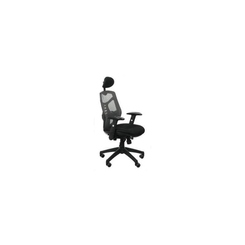 Fotel biurowy Sit Plus Spectrum HB-NET szary