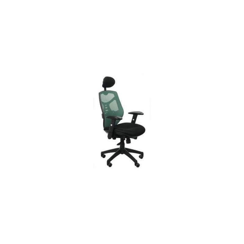 Fotel biurowy Sit Plus Spectrum HB-NET zielony