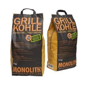węgiel drzewny 3kg - MONOLITH