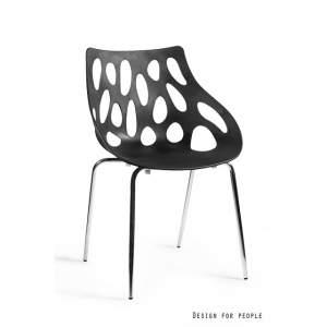Krzesło Area kolor czarny UNIQUE
