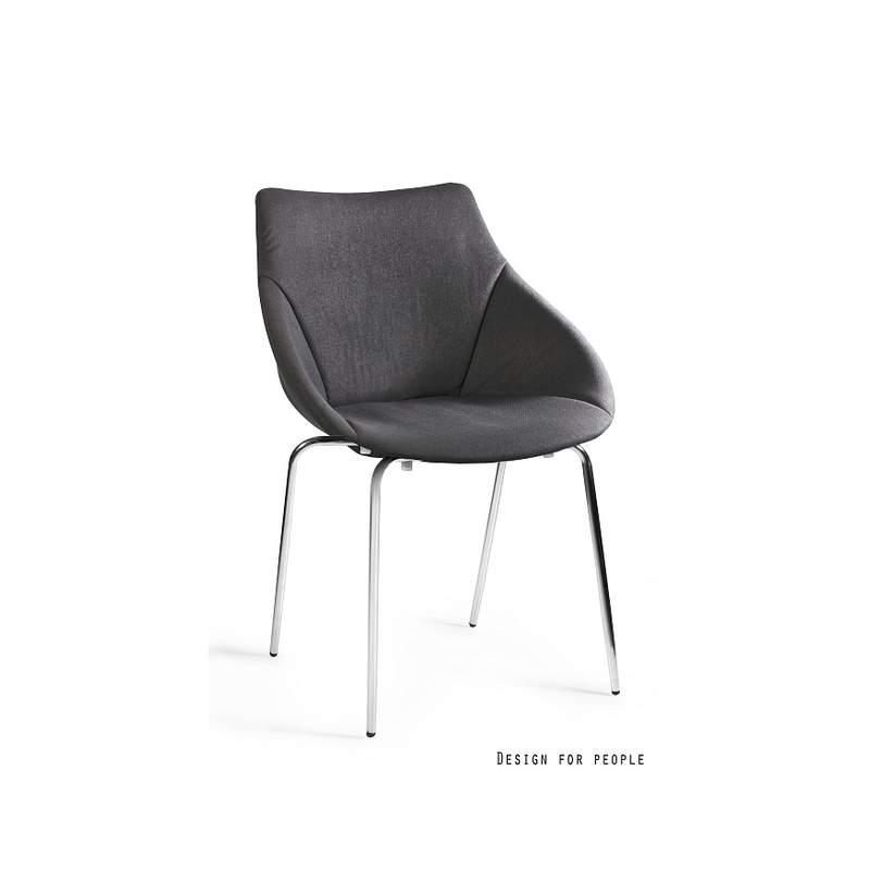 Krzesło Lumi kolor czerwony UNIQUE