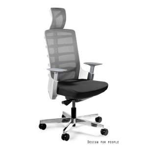 Krzesło biurowe Spinelly białe UNIQUE