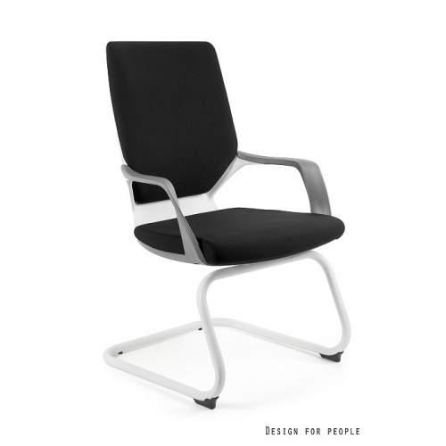 Apollo skid biały fotel biurowy UNIQUE